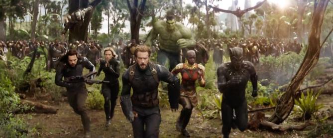 Отмъстителите: Война без край (2018) Super Bowl спот