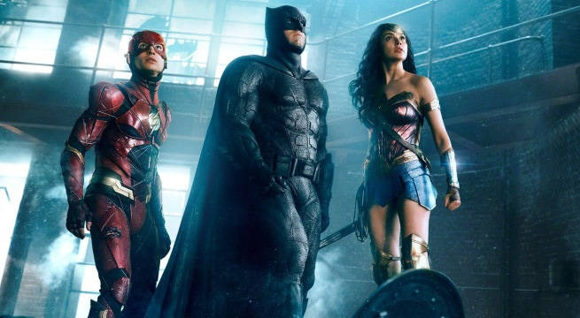 Лигата на справедливостта (2017) Comic-Con 2017 трейлър