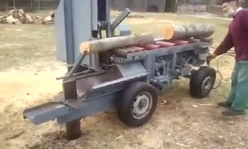 Машини за рязане и цепене на дърва