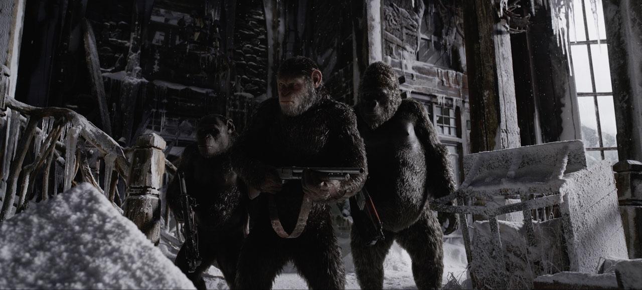 Войната за планетата на маймуните (2017) трейлър 2