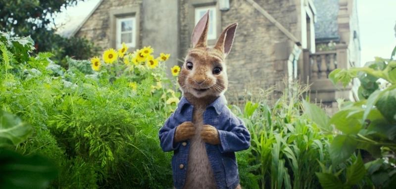 Зайчето Питър (2018) трейлър