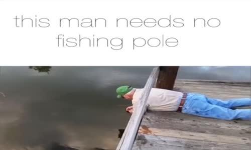 Те така се лови риба!