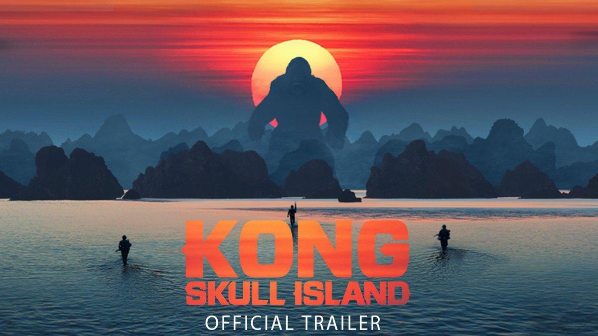 Конг: Островът на черепа (2017) трейлър