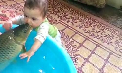 Бебе и шаран-Смях!